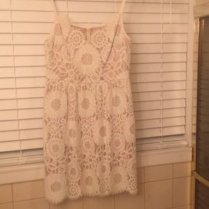 Trina Turk lace white dress